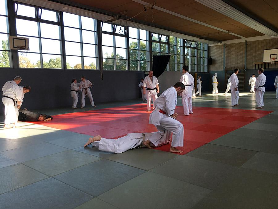 Jiu-Jitsu mit Manfred Thull
